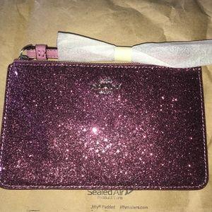 COACH Star Glitter Sparkle Wristlet